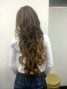 Great Lengths extensions at Gold.